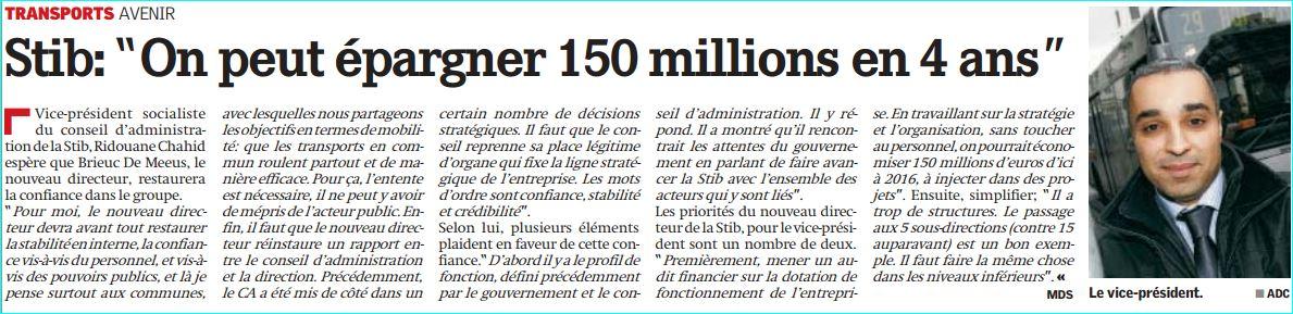 150 Millions La Capitale