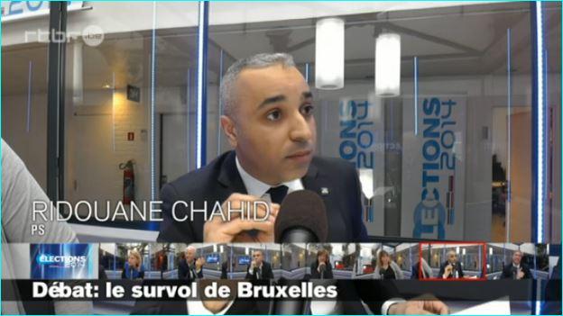 Survol de Bruxelles